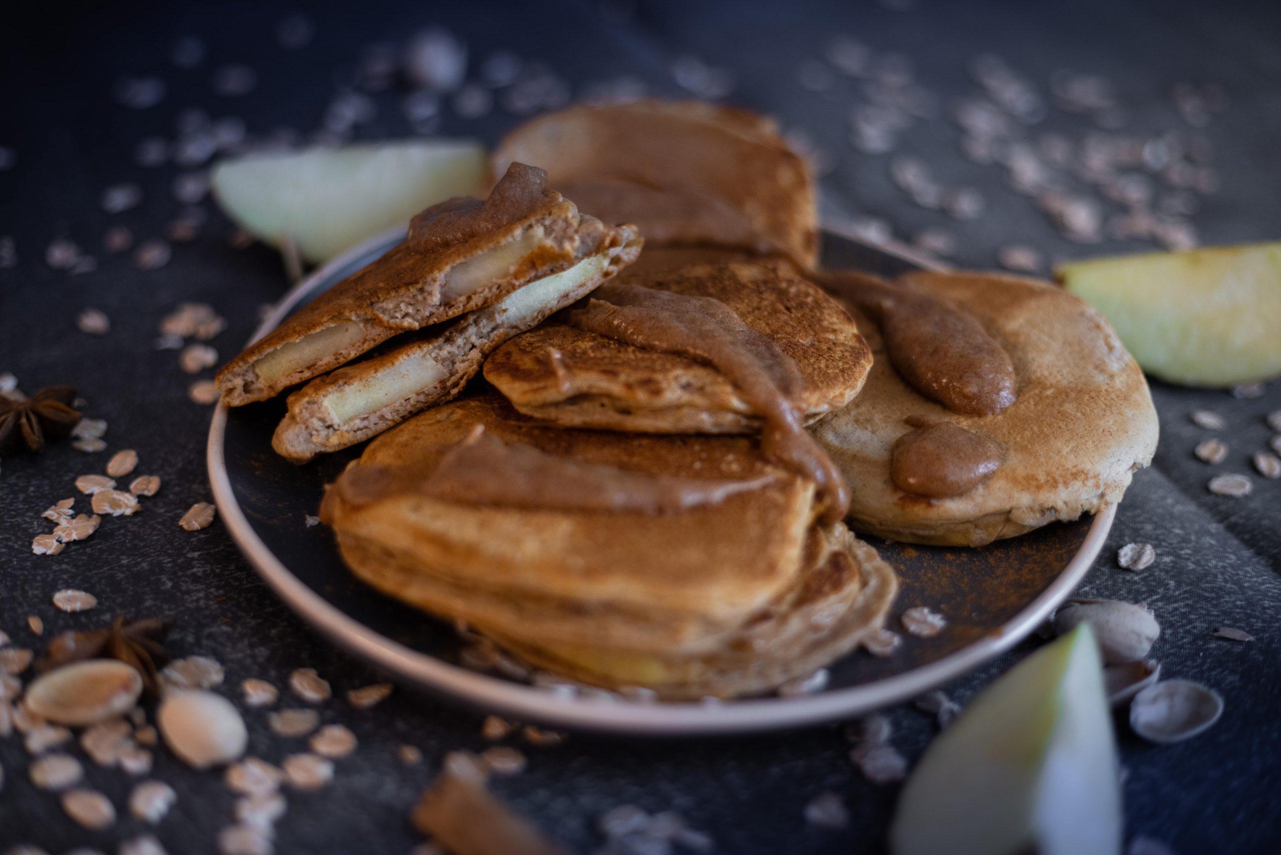 Heerlijke appel pannenkoeken